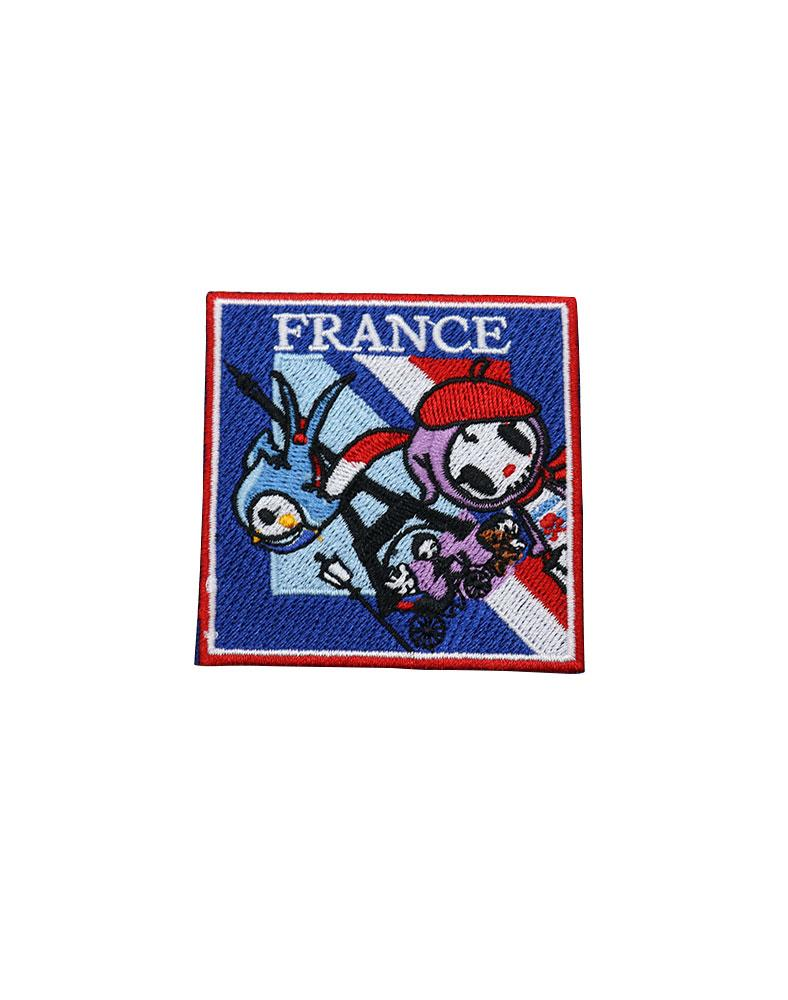 Travel France Iron-on Patch