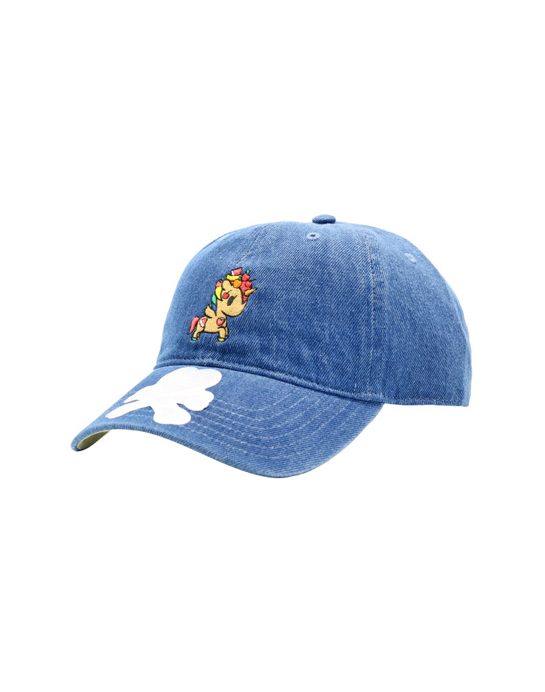 Fruity Adjustable Dad Hat front side