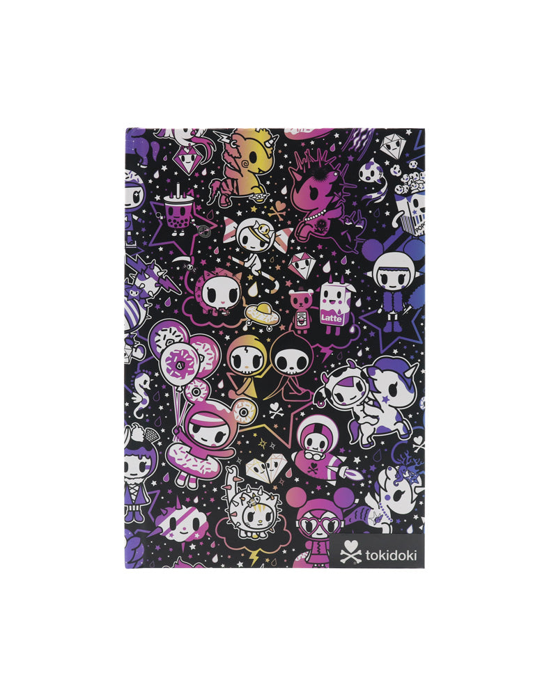 tokidoki Galactic Dreams Hard Cover Notebook Front Shot