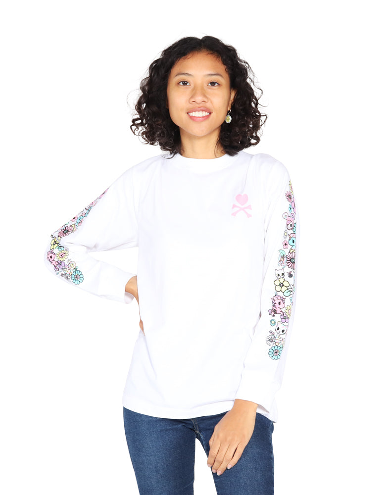 Garden Sleeves Long Sleeve Tee (Unisex) FM View