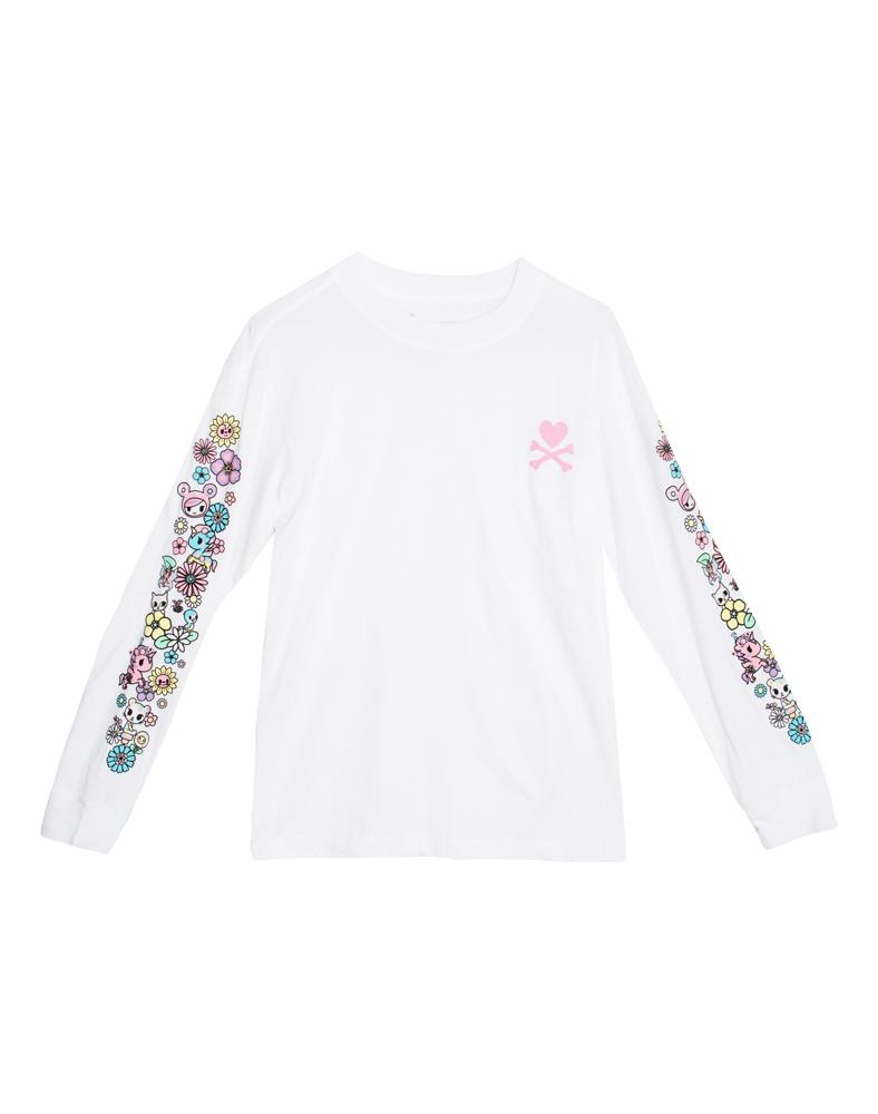Garden Sleeves Long Sleeve Tee (Unisex) Front