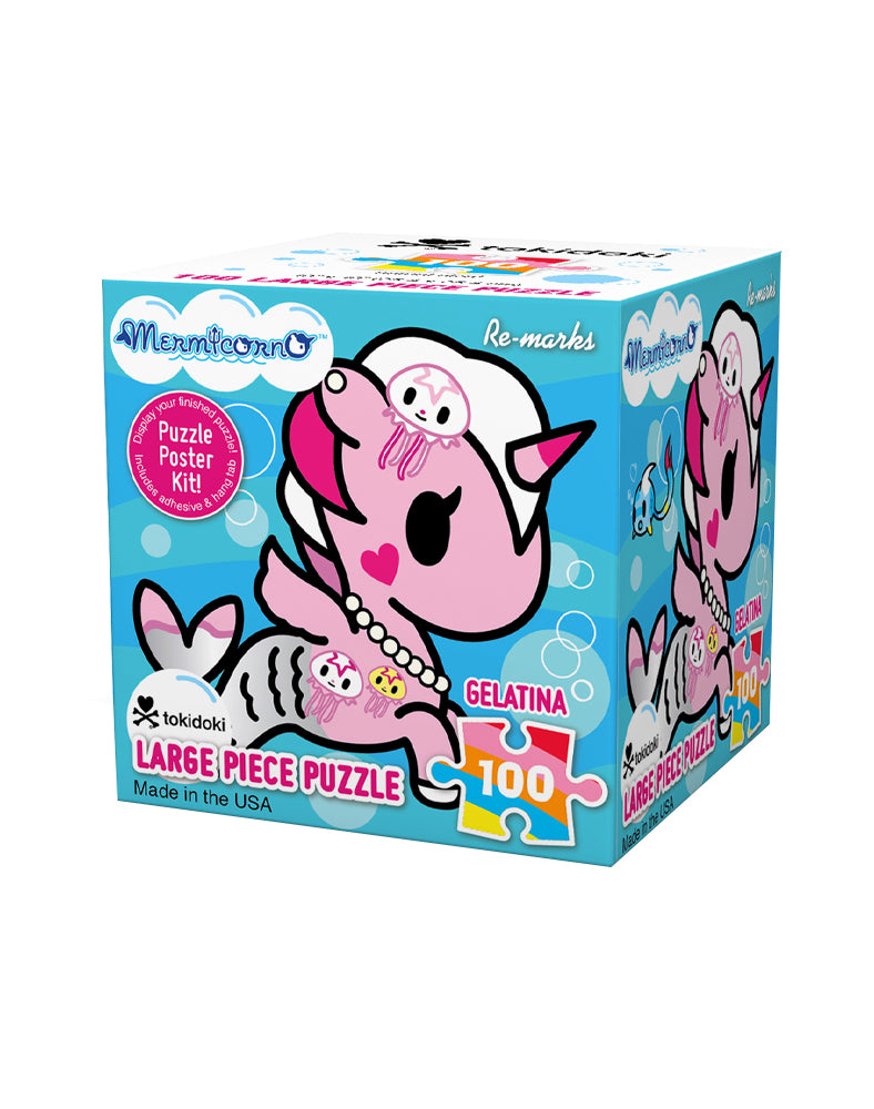 Gelatina 100 Large Piece Puzzle Packaging