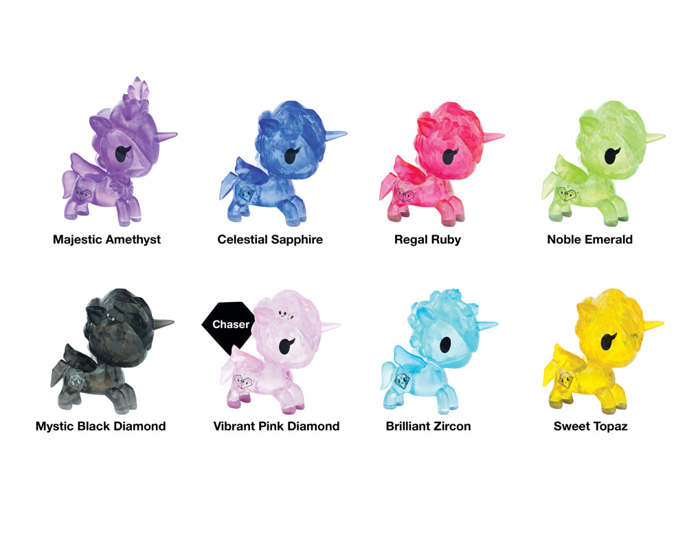 Unicorno Gems Blind Box Roster