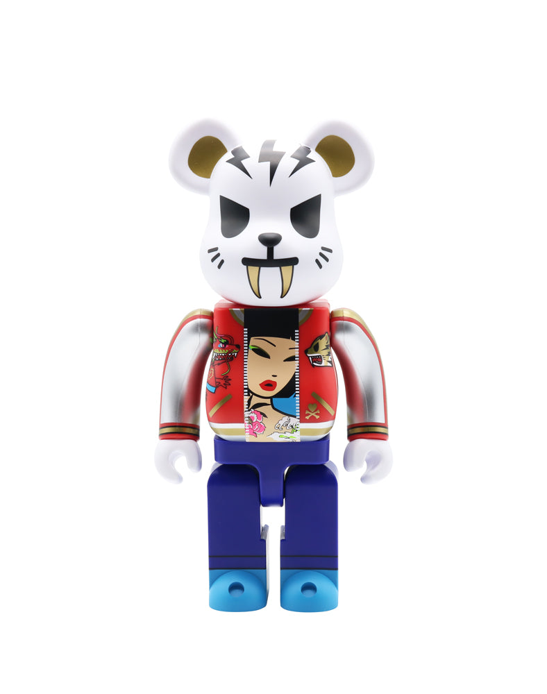 tokidoki x Be@rbrick Electric Tiger 400%