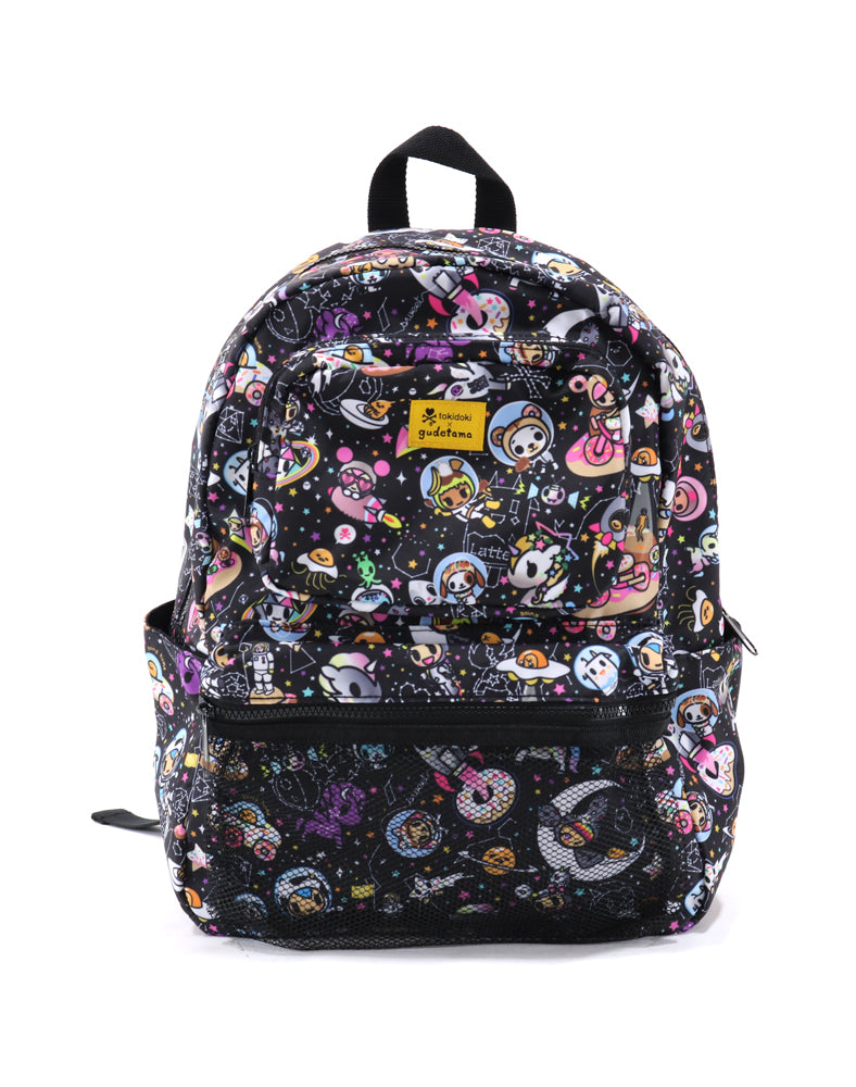 tokidoki x gudetama Starry Backpack Front