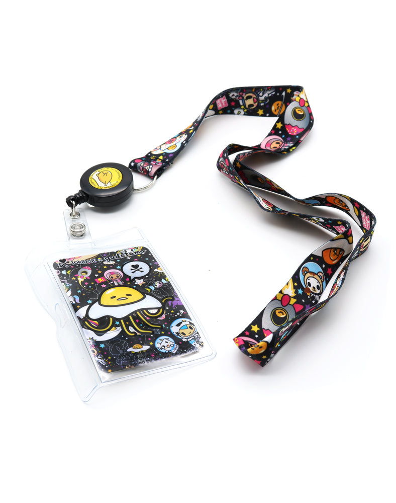 tokidoki x gudetama Starry Key Leash Lanyard