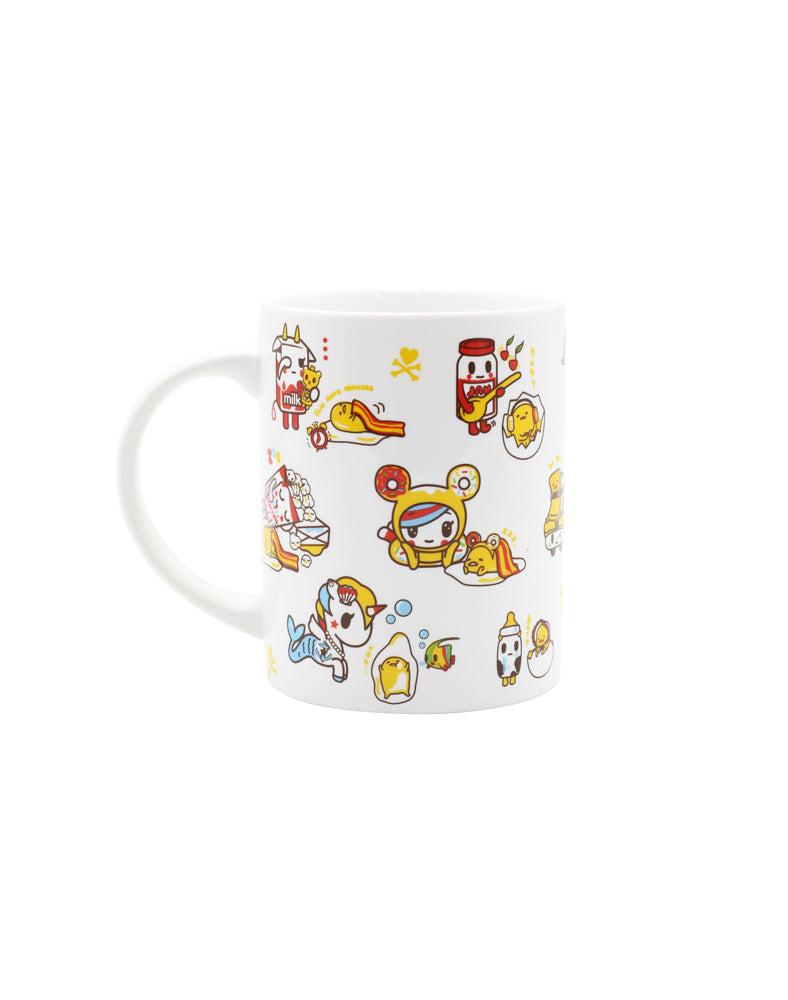 tokidoki x gudetama Ceramic Mug out of box