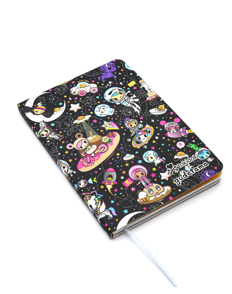 tokidoki x gudetama Starry Journal Front