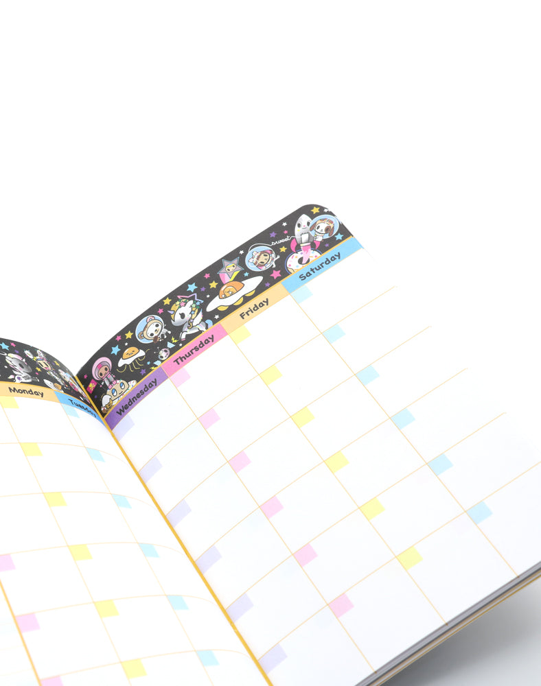 tokidoki x gudetama Starry Journal Inside