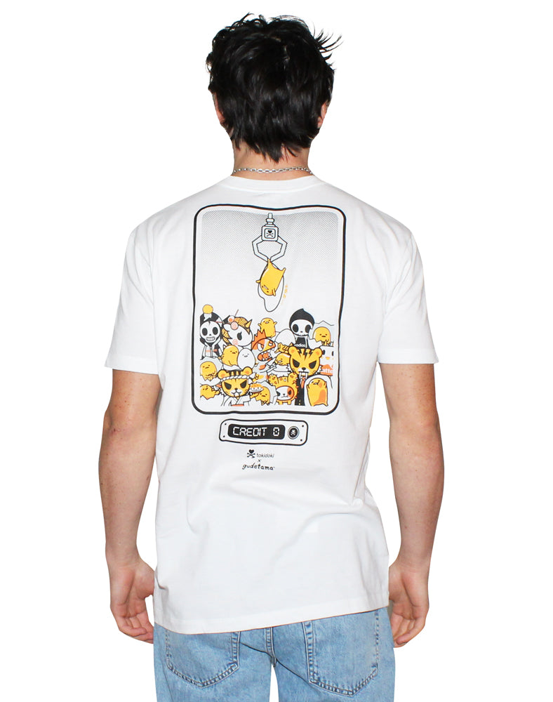 Gudetama Claw Machine Tee