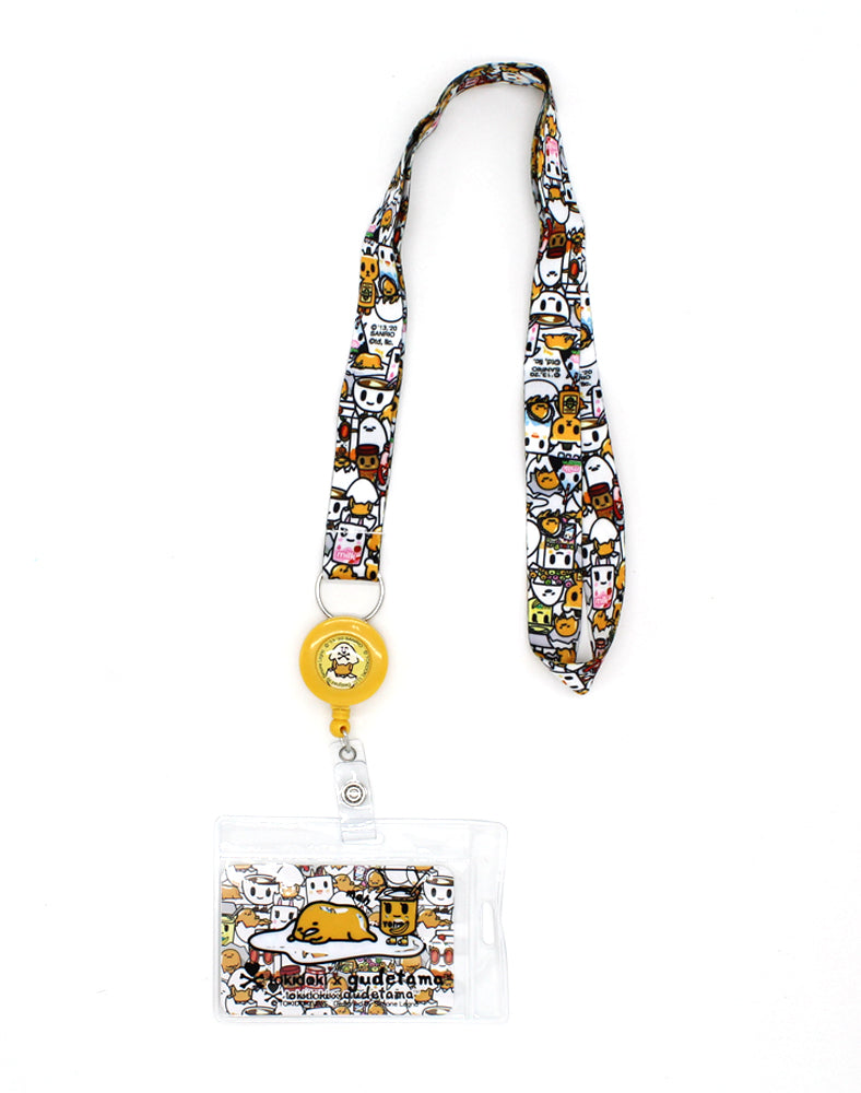 tokidoki x Gudetama Break An Egg Key Leash