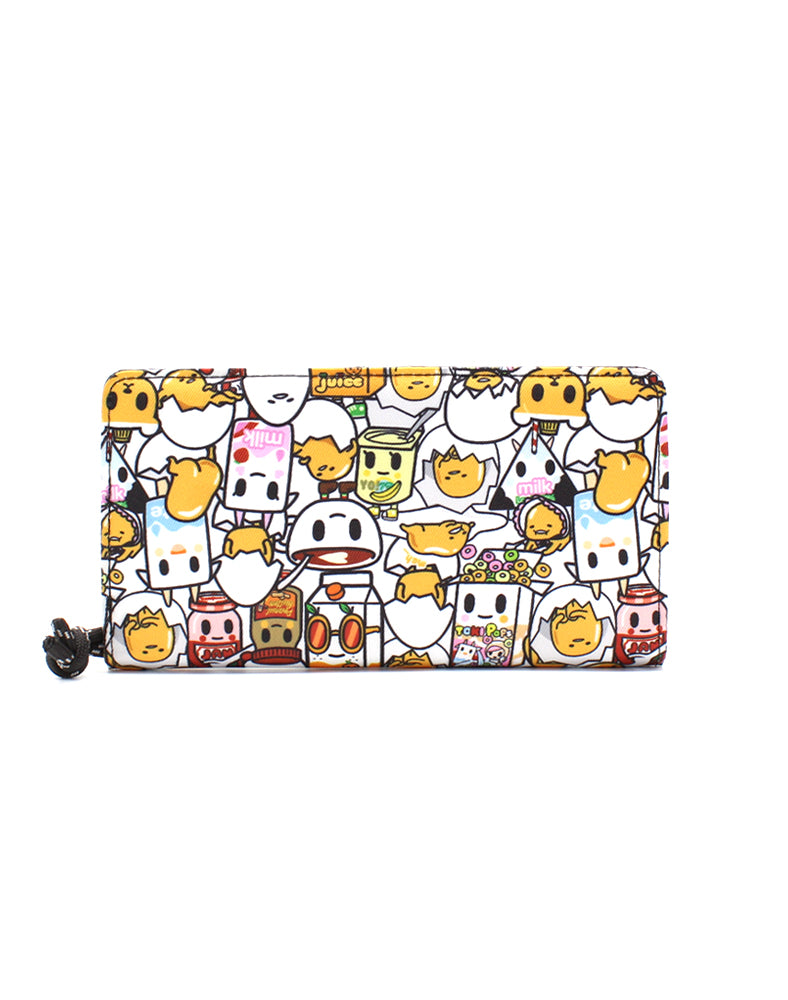 tokidoki x Gudetama Break An Egg Long Wallet