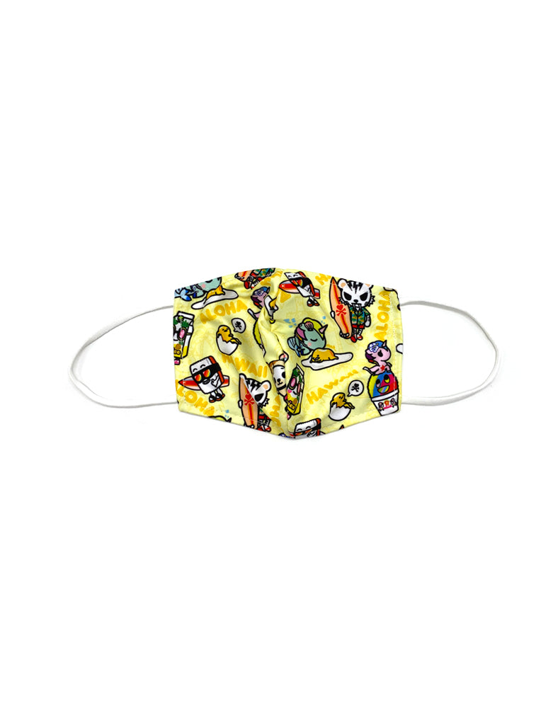 tokidoki x gudetama Fabric Cool Mask