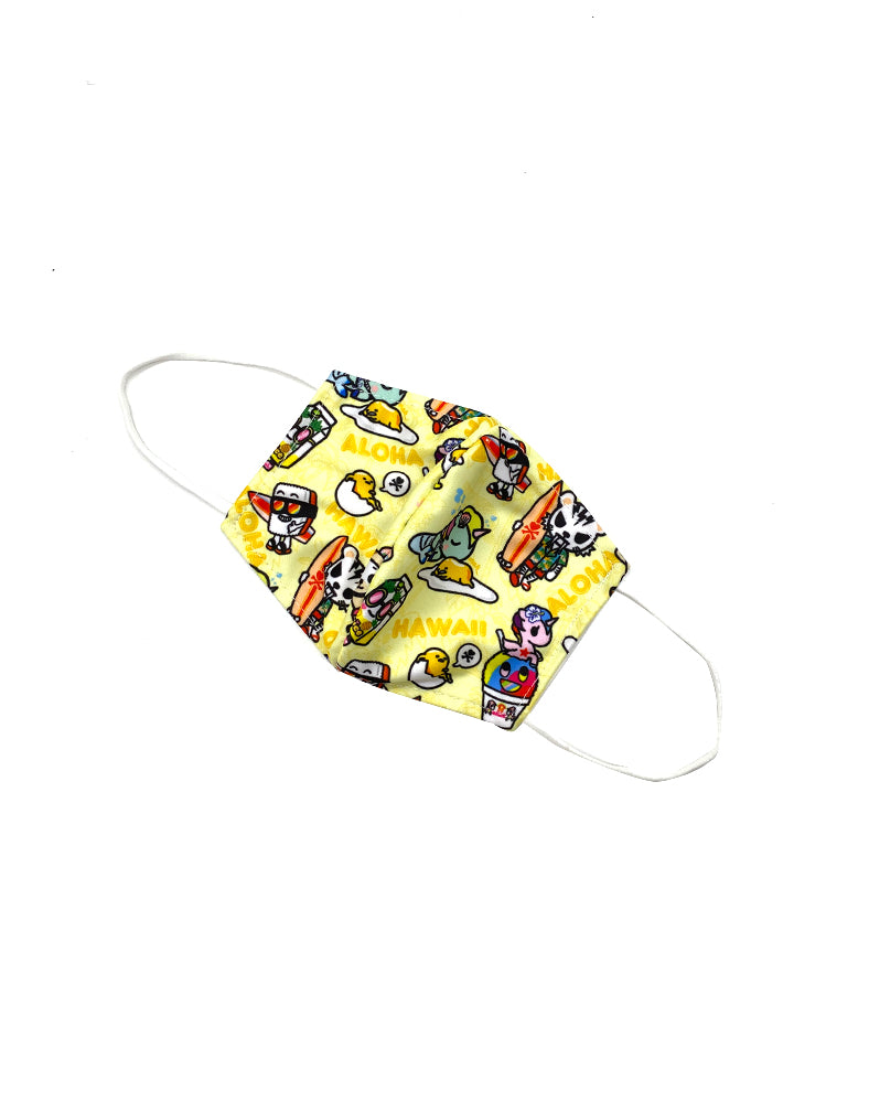 tokidoki x gudetama Fabric Cool Mask Alt View