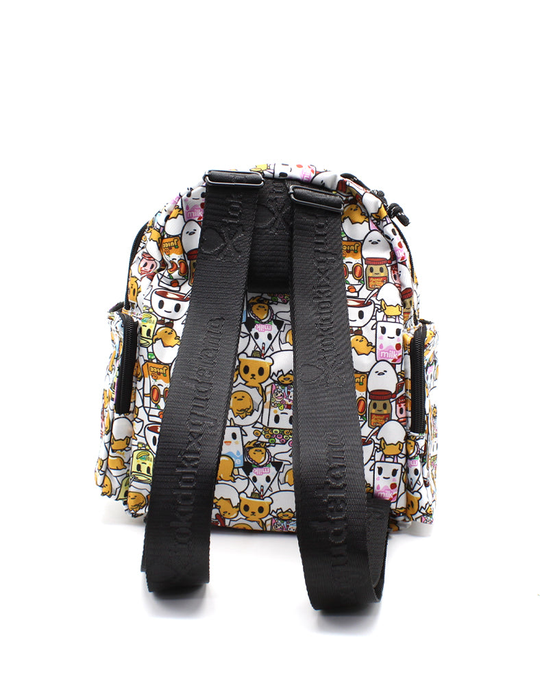 tokidoki x Gudetama Break An Egg Petite Backpack