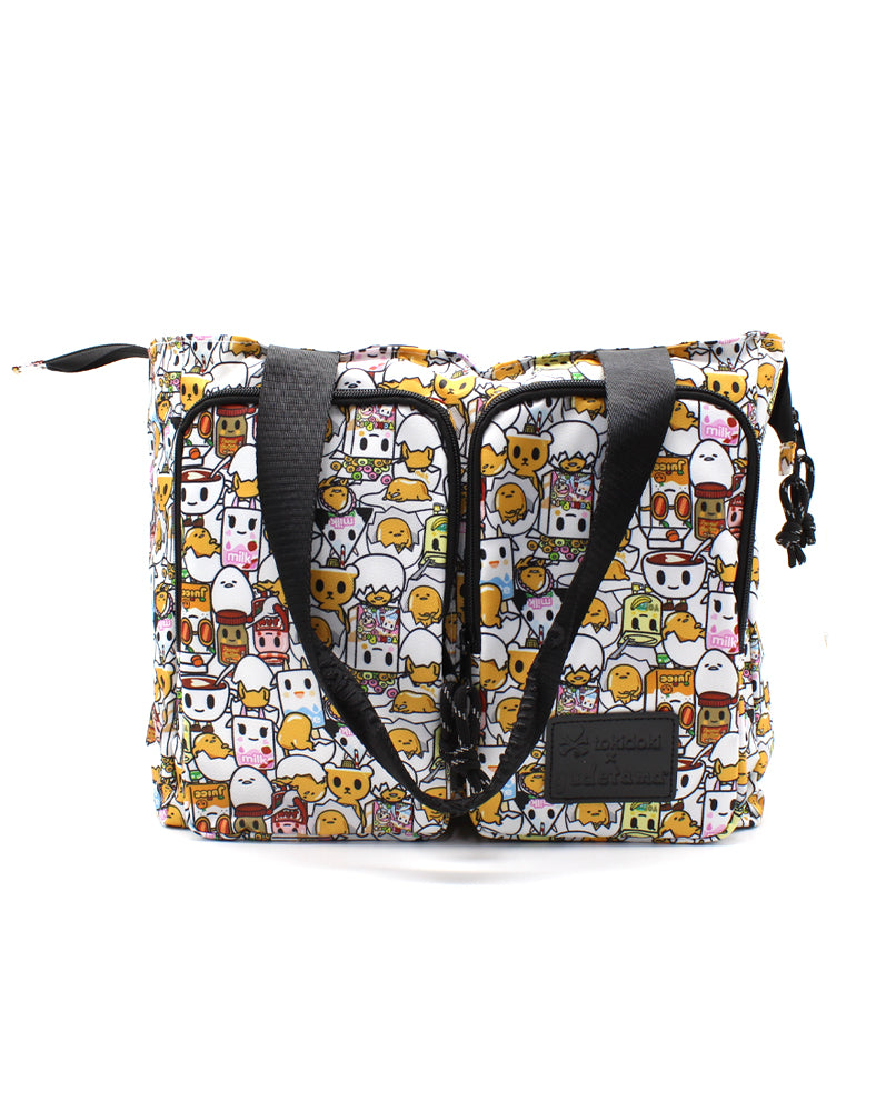 tokidoki x Gudetama Break An Egg Shoulder Tote