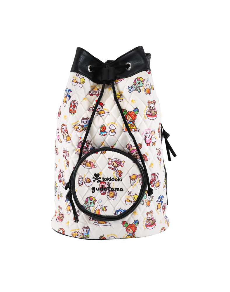 tokidoki x gudetama Mini Backpack front