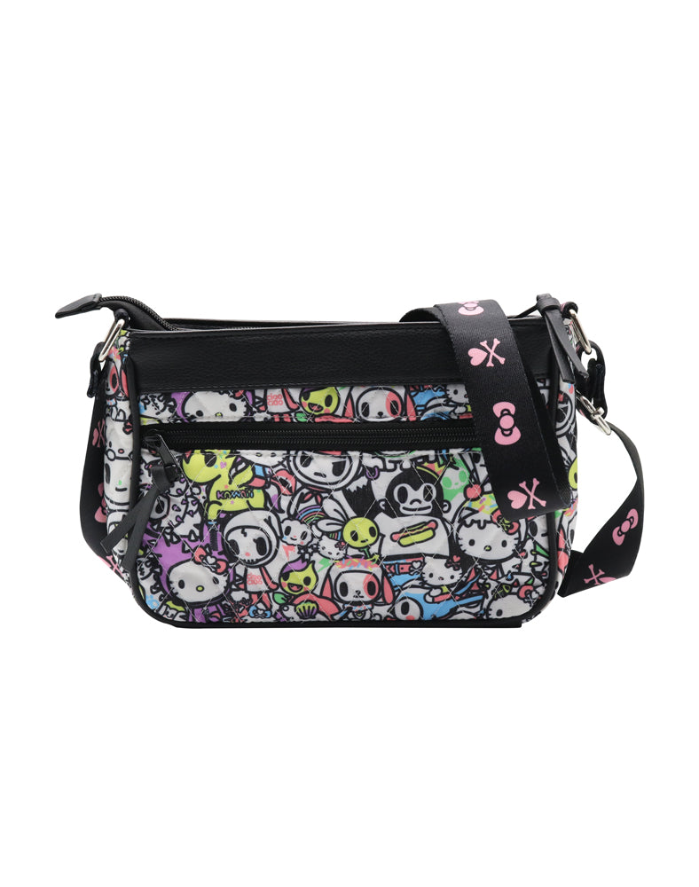 tokidoki x Hello Kitty Pastel Small Crossbody front
