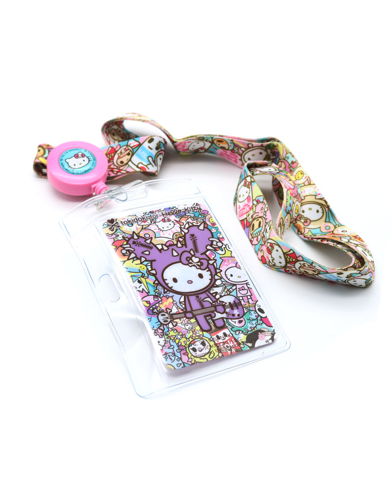 tokidoki x Hello Kitty Rainbow Key Leash Lanyard