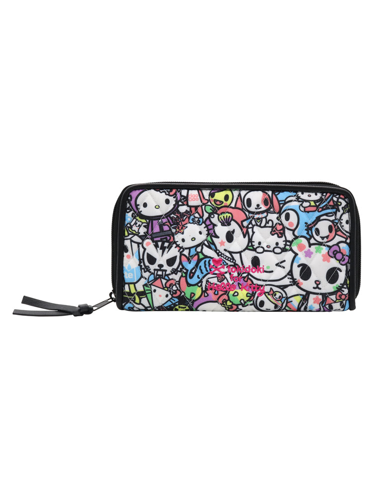 tokidoki x Hello Kitty Pastel Long Wallet front