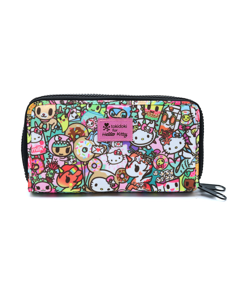 tokidoki x Hello Kitty Rainbow Long Wallet