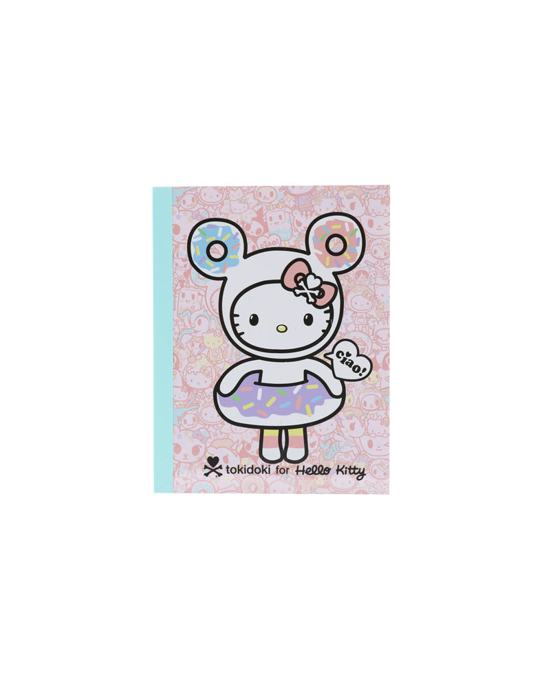 tokidoki x Hello Kitty Pastel Memo Pad (Mint) front cover