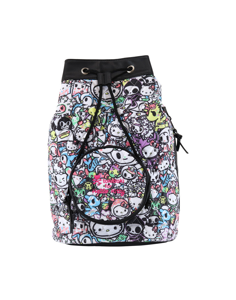 tokidoki x Hello Kitty Pastel Mini Backpack front