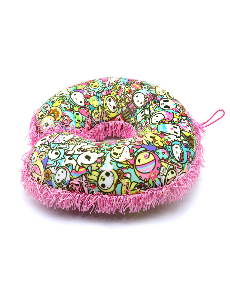 tokidoki x Hello Kitty Rainbow Neck Pillow Alt View