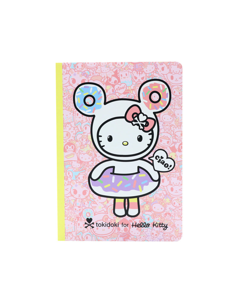 tokidoki x Hello Kitty Pastel Notebook Set front cover
