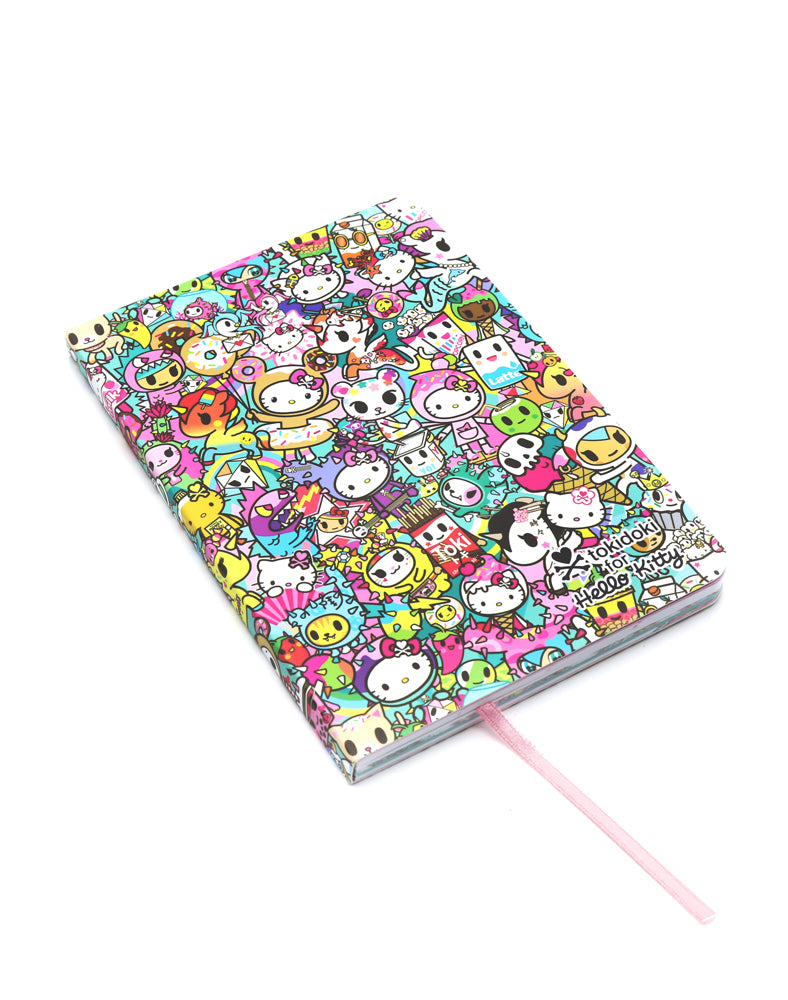 tokidoki x Hello Kitty Rainbow Journal