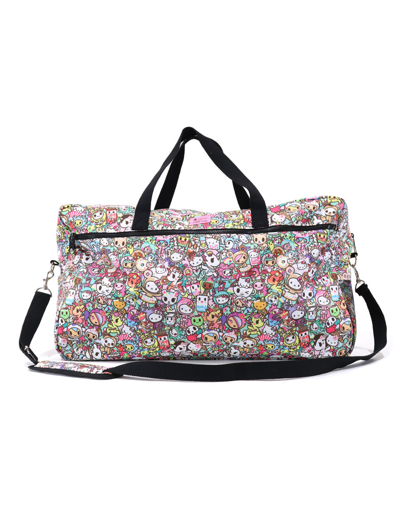 tokidoki x Hello Kitty Rainbow Overnight Bag