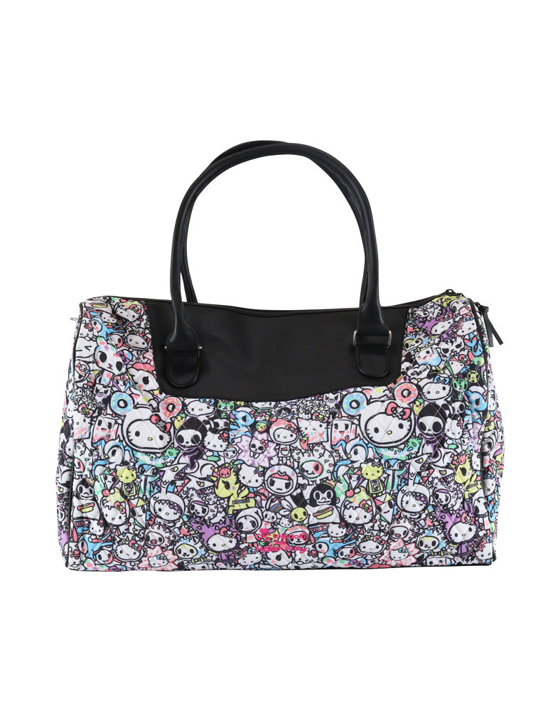 tokidoki x Hello Kitty Pastel Overnight Bag front