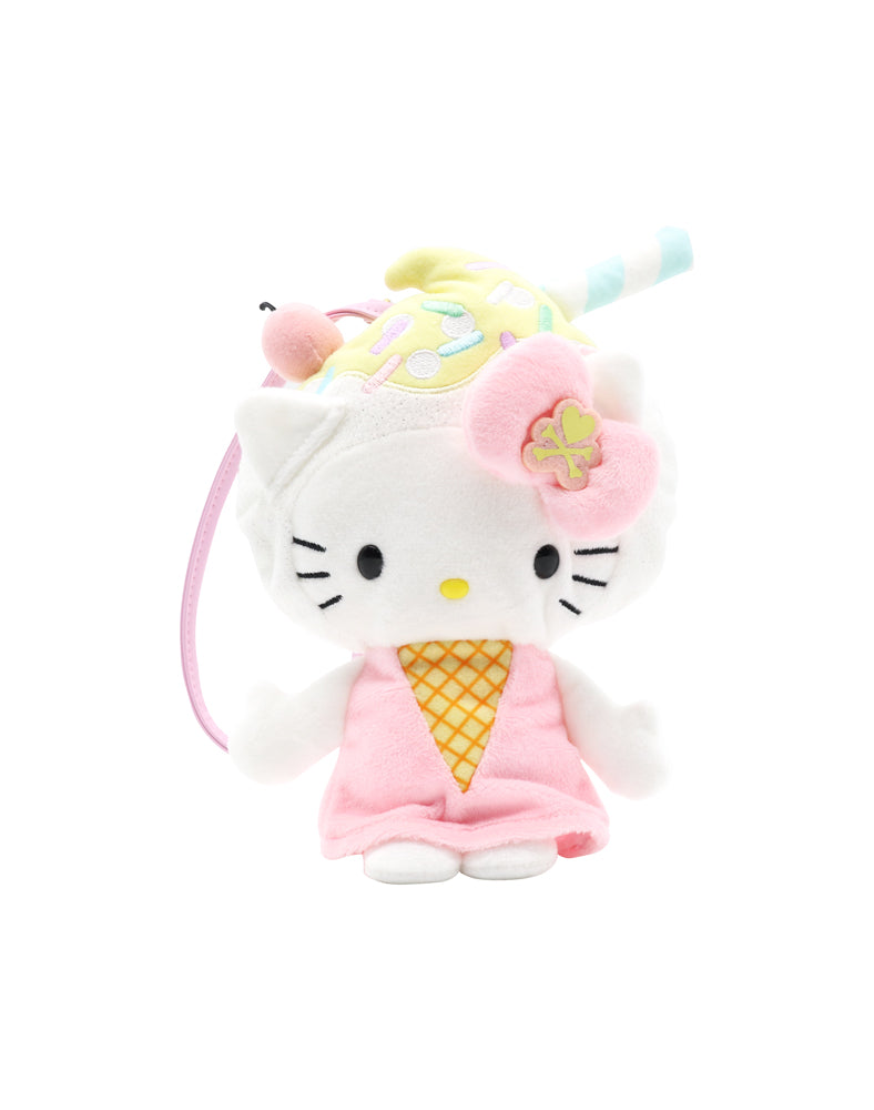tokidoki x Hello Kitty Pastel Plush Pen Pouch front