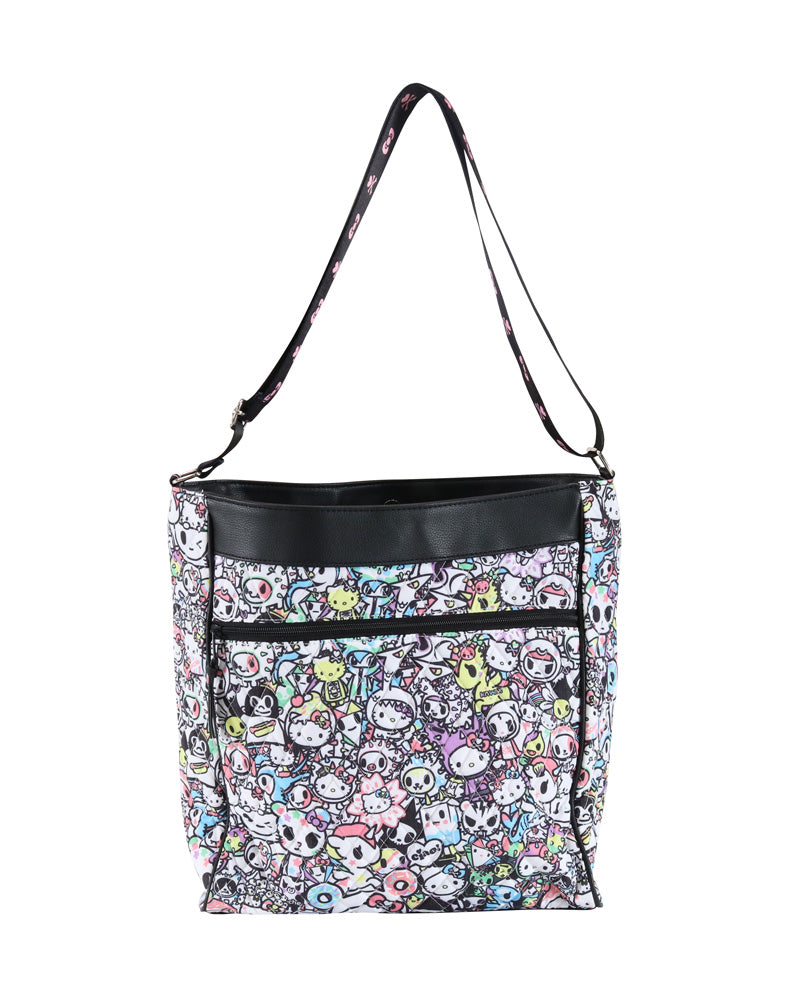 tokidoki x Hello Kitty Pastel Crossbody front