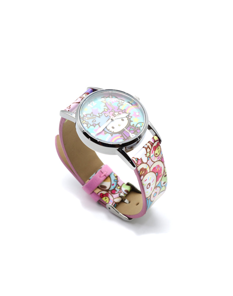 tokidoki x Hello Kitty Rainbow Wrist Watch