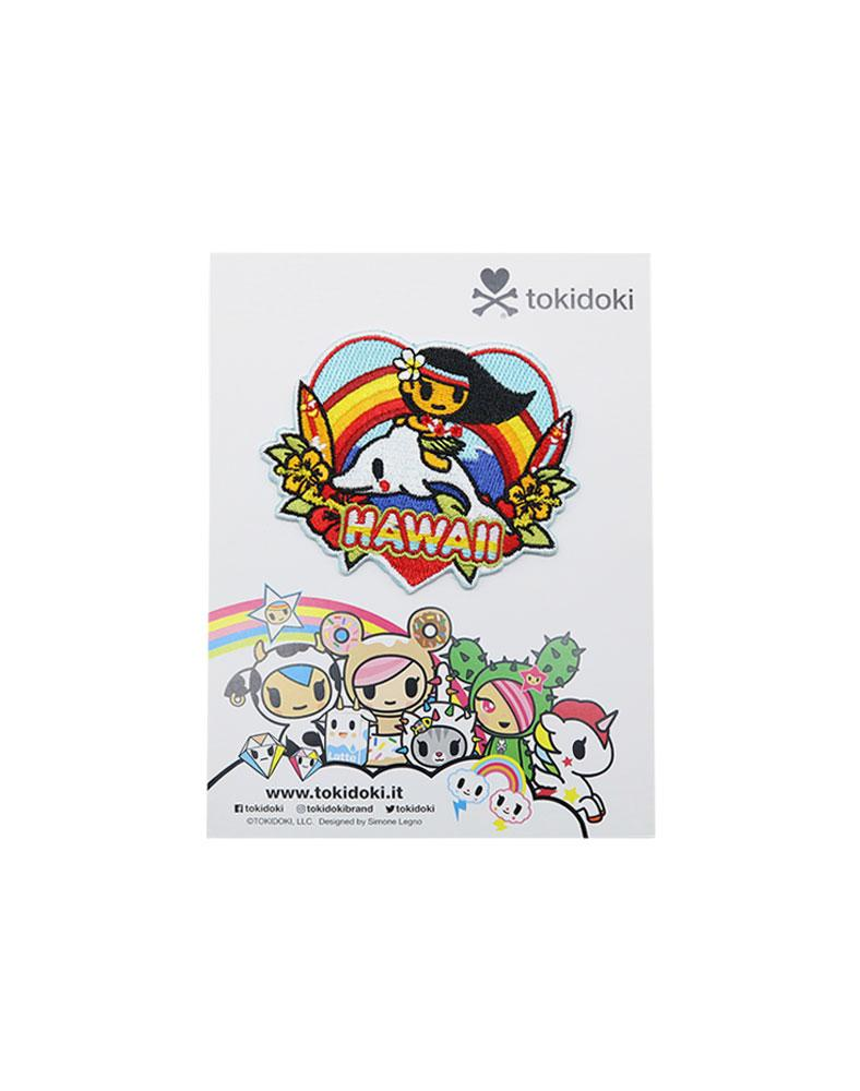 Travel Hawaii Iron-on Patch Packaging