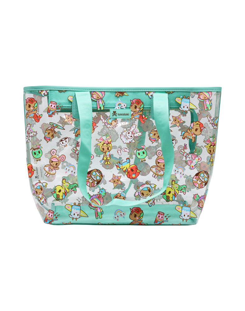 Hawaii Collection Clear Zip Tote