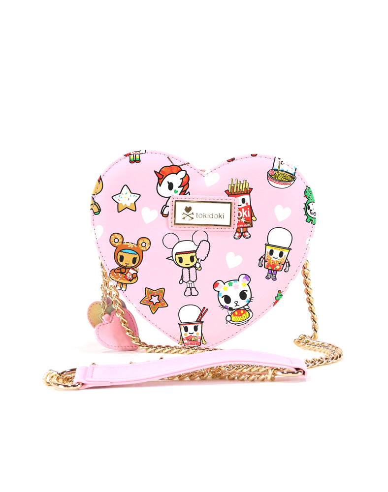 Toki Takeout Heart Shaped Crossbody