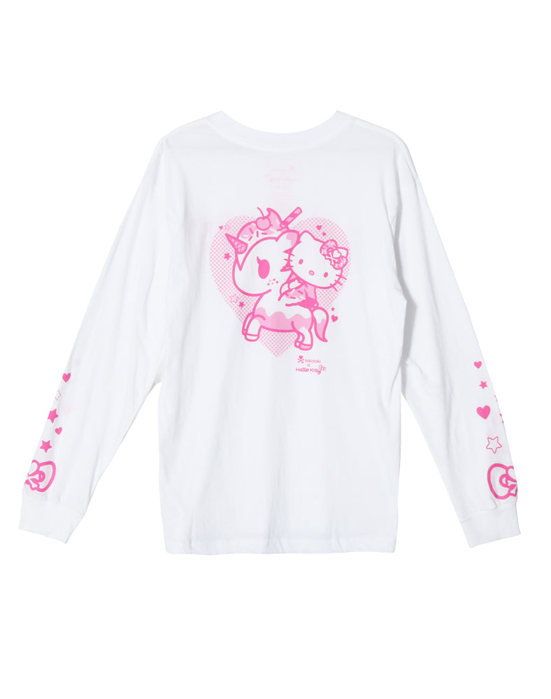 tokidoki x Hello Kitty Hello Cherry Long Sleeve Tee (Unisex) Back