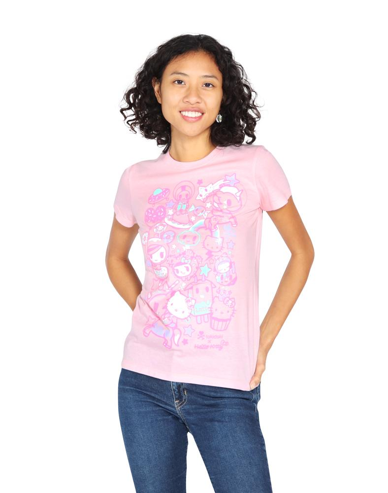 tokidoki x Hello Kitty Hello Dreamy Tee Front