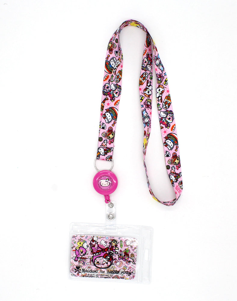tokidoki x Hello Kitty Kawaii Adventures Key Leash