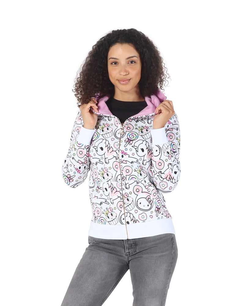 tokidoki x Hello Kitty Hello Sugar Rush Hoodie