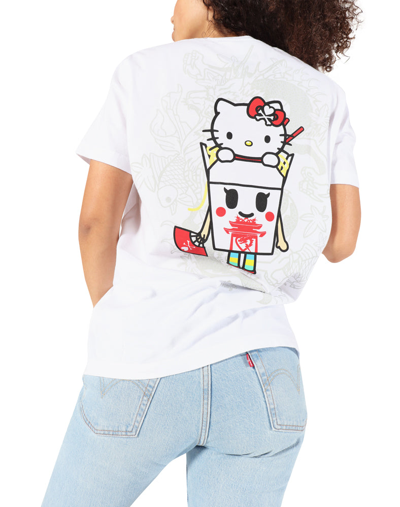 tokidoki-Con tokidoki x Hello Kitty Hello Takeout Tee (Unisex) Back