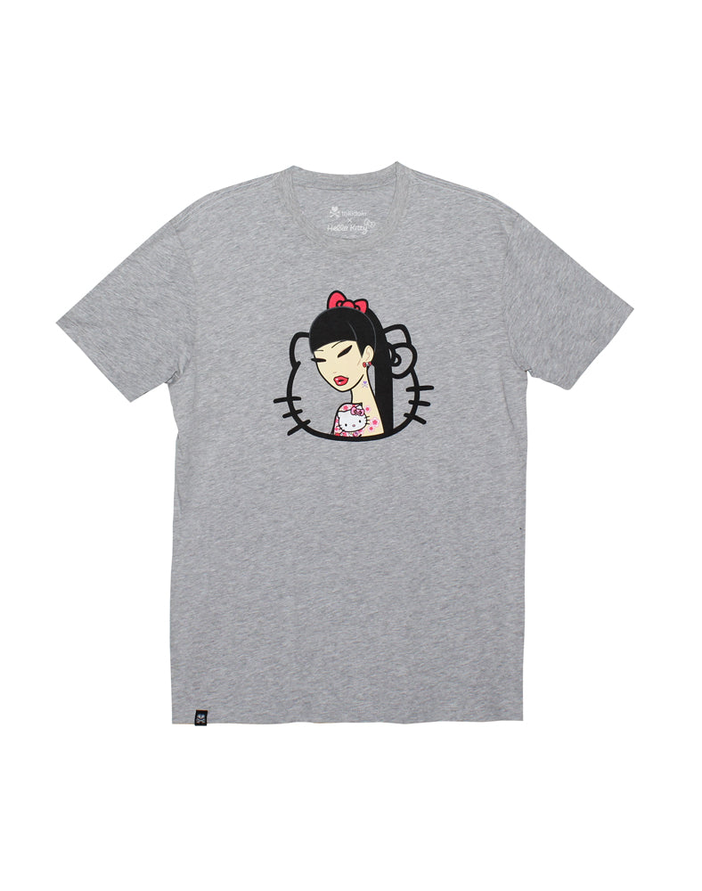 tokidoki x Hello Kitty Hello Tattoo Tee - Flat