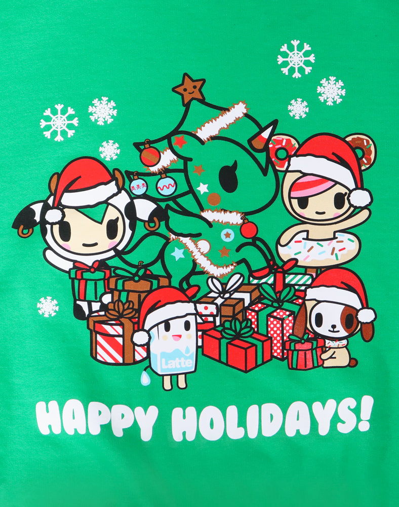 A Very Toki Holiday Unisex Sweatshirt (Online Exclusive) Close Up