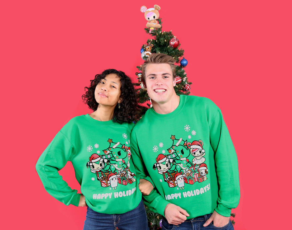 A Very Toki Holiday Unisex Sweatshirt (Online Exclusive) Alternate Shot