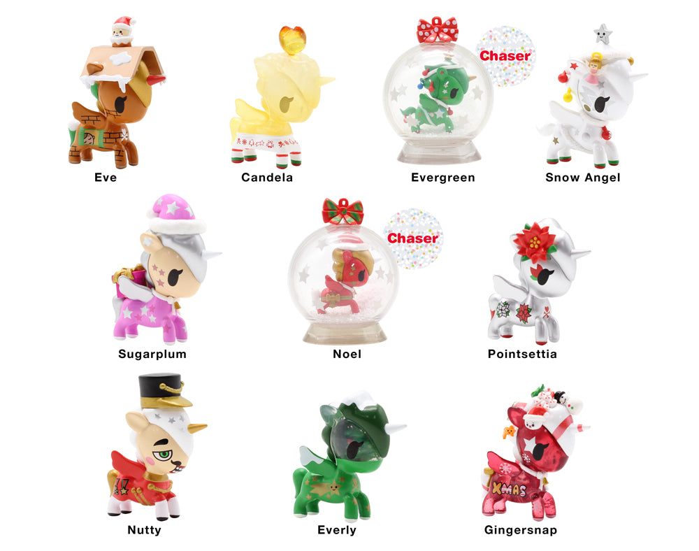 Holiday Unicorno Blind Box Series 2 Roster