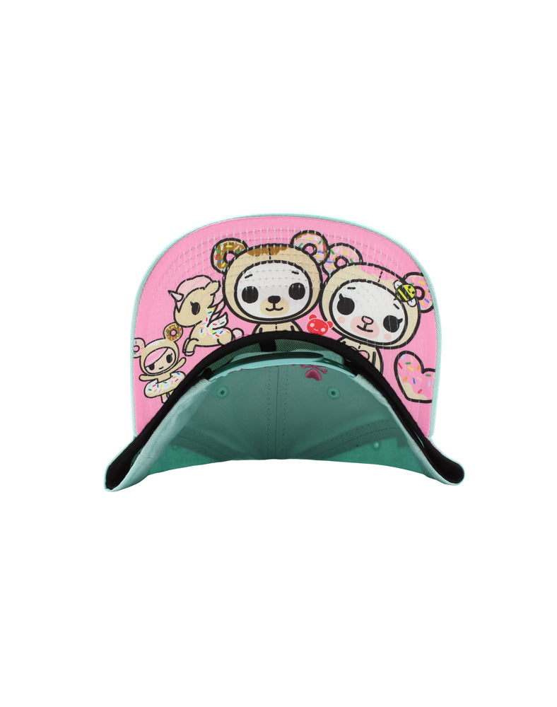 Honey Bear Women's Snapback Under Brim
