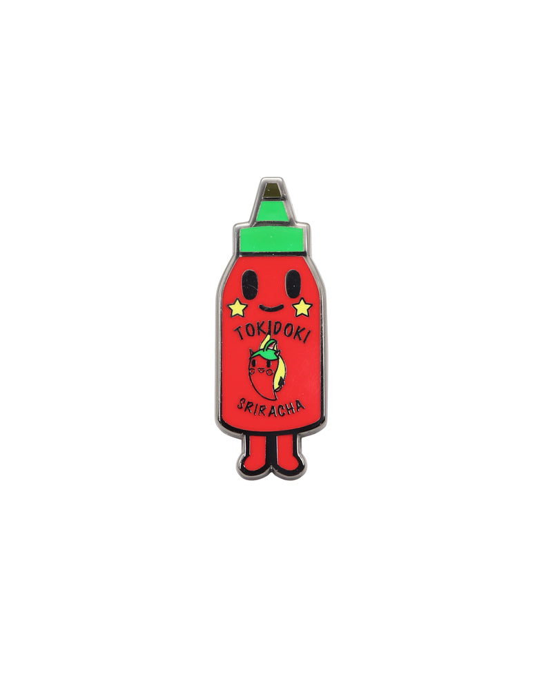 Hotty Enamel Pin Front