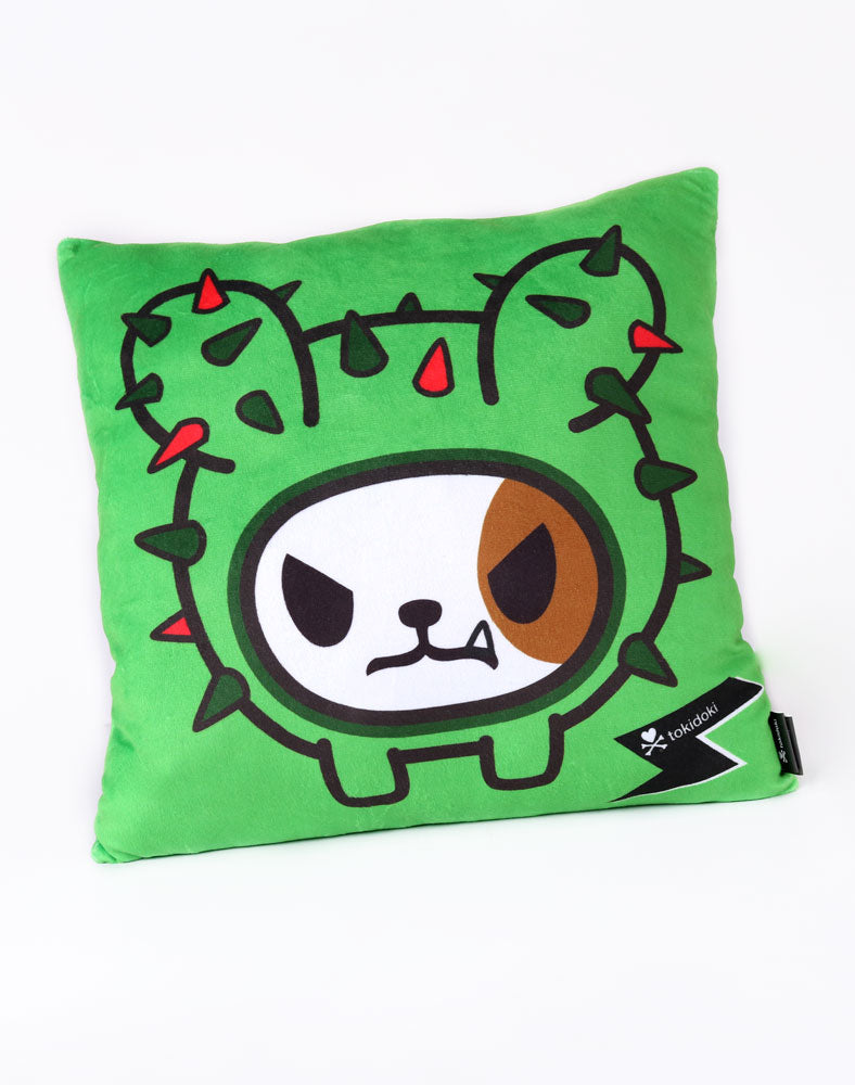 Cactus Dog Cushion Front